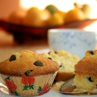 Orange and Chocolate Chip Fairy Cakes