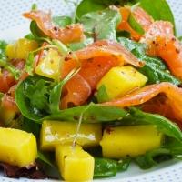 Smoked Salmon and Mango Salad