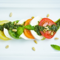 Tomato and Mozarella Salad